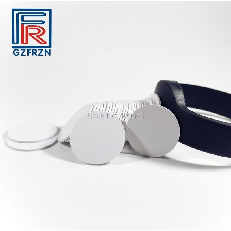 10pcs 125khz T5577/T5567 Rewritable RFID Card PVC Token Tag RFID Copy Clone Card Dia 25mm