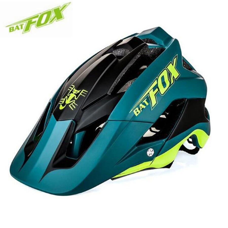 BATFOX bicycle helmet women men Breathable mtb helmet integrally-molded ultralight cycling helmets bike helmet casco bicicleta цена