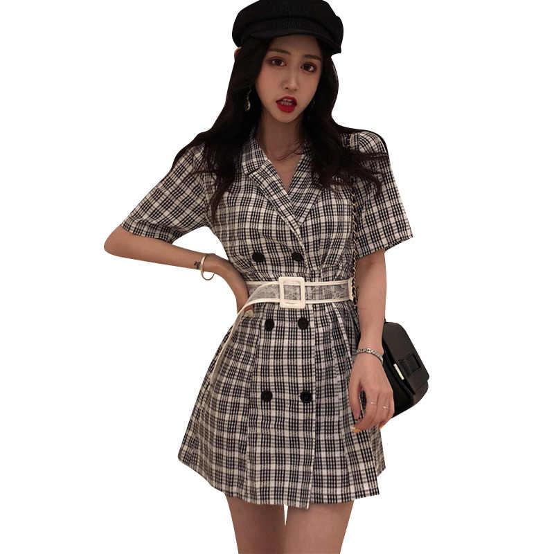 Корейское винтажное платье, элегантные женские платья, Сексуальные клубные вечерние платья, весенне-летнее платье, женская одежда 2019 Vestidos 6208 ZT2603