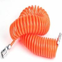 L 9meter air compressor hose Spring tube Pneumatic Parts pneumatic cylinder air hose inner diameter 8MM 6.5MM 4MM 5MM