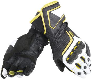 Free shipping 2018 Dain Druid D1 Long Motorcycle Armoured Gloves Black Yellow Motorcycle/Bike Glove
