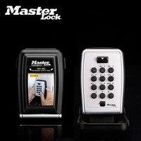Master Lock Key Lock Box Metal Password Locker Wall Mounted Weather Resistant Combination Code Keys Storage Safe Organizers Box