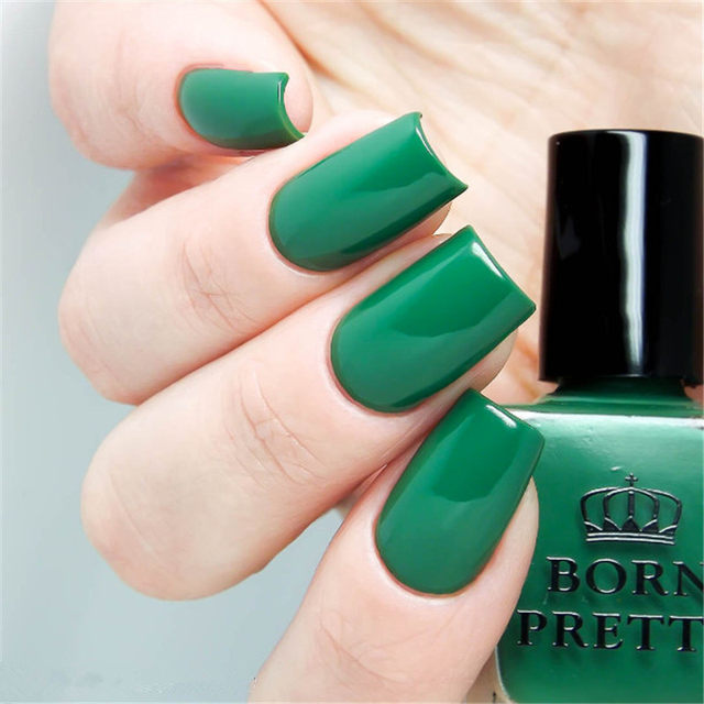 Tienda Online Born pretty 1 botella 10 ml rojo verde Esmaltes de ...