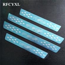 Накладки на пороги, декоративные полосы, наклейки для Citroen C4 Grand Picasso I 2007 2012, пороги для стайлинга автомобилей, автомобильные аксессуары