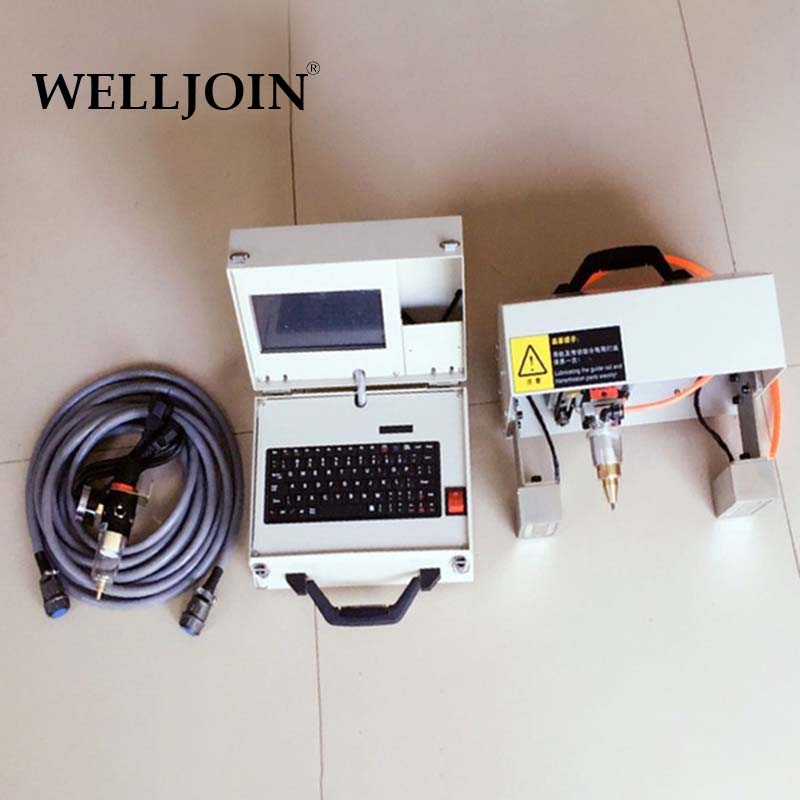 Pneumatic Touch screen steel plate marking machine metal printer90*160mm