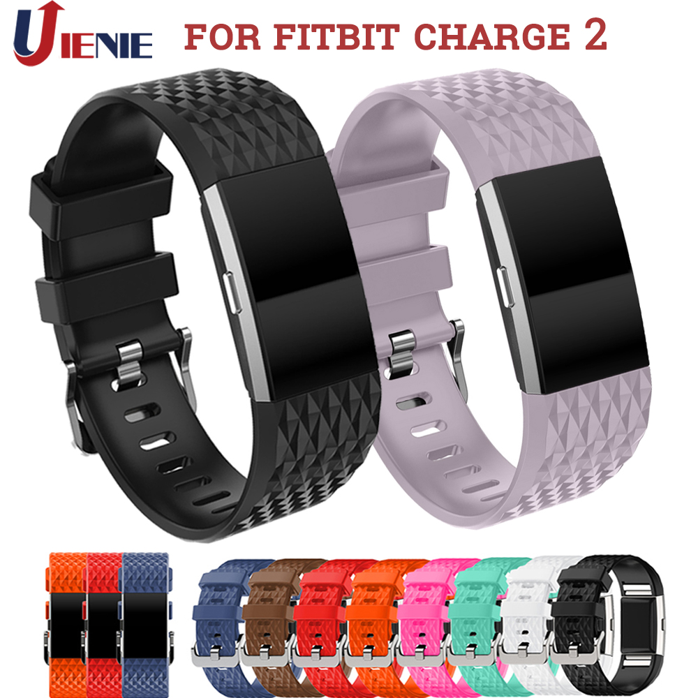 Silicone Straps Watchband For Fitbit Charge 2 Smart Watch Band Sport Replacement Wristband For Fitbit Charge2 Watch Accessories