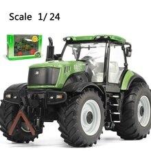Большой размер, модель грузовика FENDT 312, сельскохозяйственный трактор, литой автомобиль, подарки для мальчиков