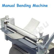 Manual Bending Machine Desktop Steel Plate Rolling Machine Metal Rolling Round Processing Tools HR-320 недорого