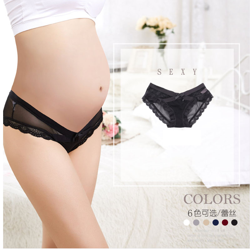 bf88e887d0d 5pcs Lot Sexy lace Maternity Women Underwear Fashion Cotton Low Waist  Maternity Underpants Panties for Pregnant Women Clothing on Aliexpress.com
