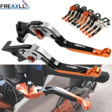 цена For KTM 390Duke 390 Duke 2012 2013 2014 2015 2016 2017 Moto Levers Accessories Motorcycle Brake Clutch Levers Folding Extending онлайн в 2017 году