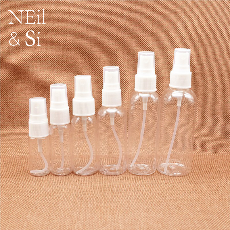 Plastic Women Perfume Spray Bottle Refillable Cosmetic Water Sprayer Container Makeup Perfume Atomizers