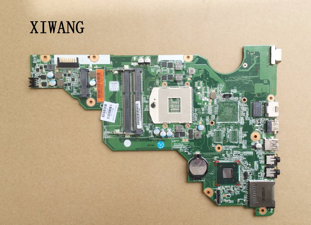 687701-501 687701-601 687701-001 Free Shipping For Hp Compaq CQ58 CQ58-2000 Laptop Motherboard SLJ8F DDR3 100% Test Good
