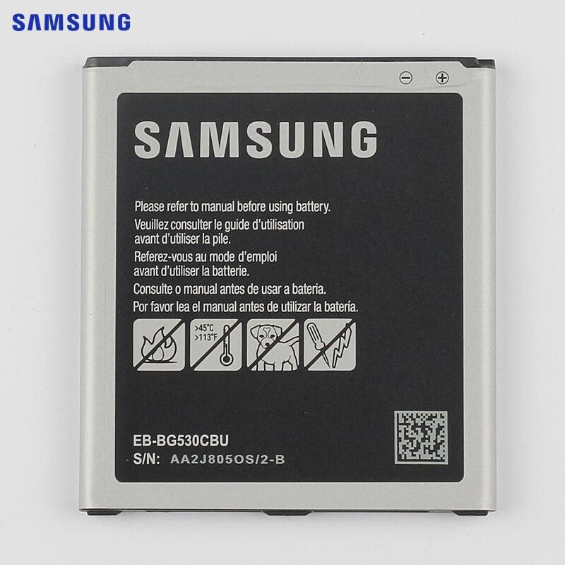 SAMSUNG Battery EB-BG530CBE EB-BG531BBE for Samsung Galaxy Grand Prime J3 2016 J320F SM-J320FN G5308W G530 G530H G531 J5 2015