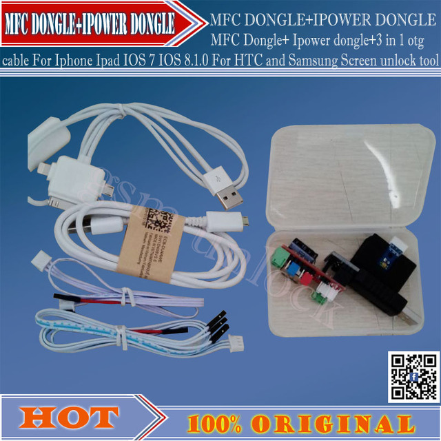 New MFC Dongle For Iphone HTC and Samsung Screen unlock tool