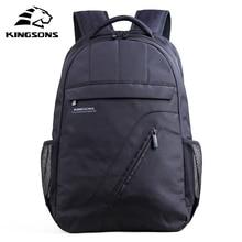 Kingsons Brand Laptop Backpack Black Men Bagpack Women Class