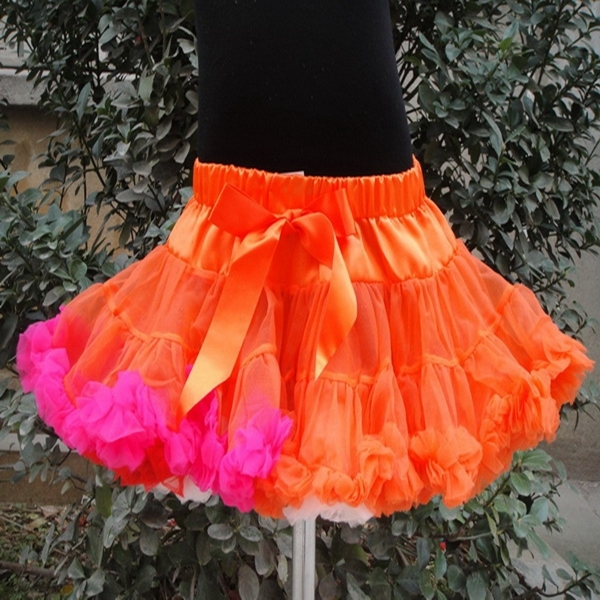 Hot sale baby girl fluffy pettiskirts girl's tutu skirts free shipping PETS-067