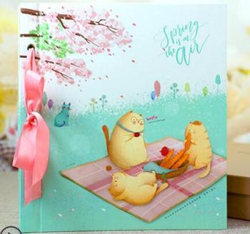 6inchCat Family Wedding albums , Wedding photo book , Wedding photo album , Picture album, for baby gift