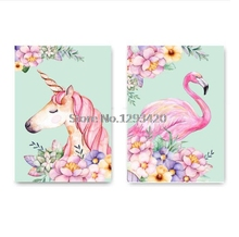 Crafts 5D Diamond Painting Unicorn Flamingo Cross Stitch Diy Embroidery Crystal Full Mosaic Home Decoration Gift