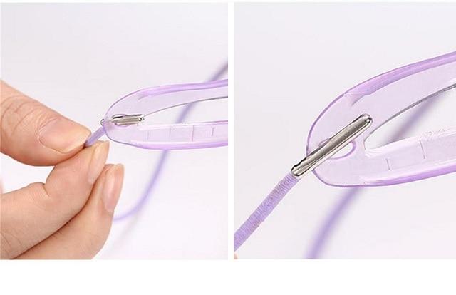 Reusable 8Pcs/Set Eyebrow Shaping Template Helper Eyebrow Stencils Kit Grooming Card Eyebrow Defining Template Makeup Tools 1