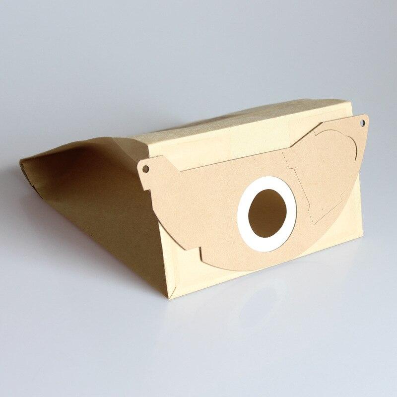 10 шт. Универсальный Hepa пейджер мешки для пыли из микроволокна для KARCHER пылесос Запчасти MV2 WD2.000-WD2.399 A2000-A2099 WD2.250 A2004