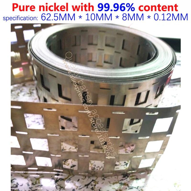 Купить с кэшбэком Welding low internal resistance pure nickel band 99.96% content of 0.15*26/27MM pure nickel plate power battery connector