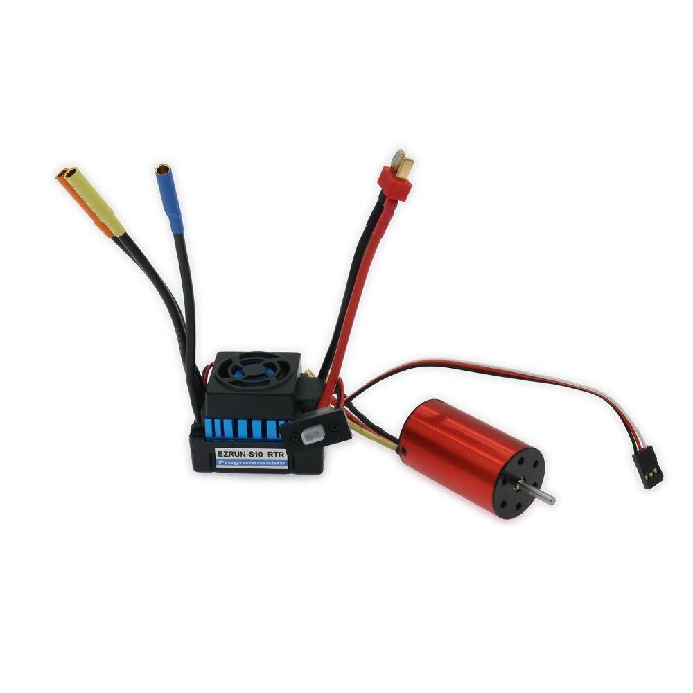 Rcawd 45a 방수 esc 전자 속도 컨트롤러 + 2848 kv4200 rc 취미 모델 자동차 보트 hsp 용 브러시리스 모터 인 러너 콤보-에서부품 & 액세서리부터 완구 & 취미 의  그룹 1