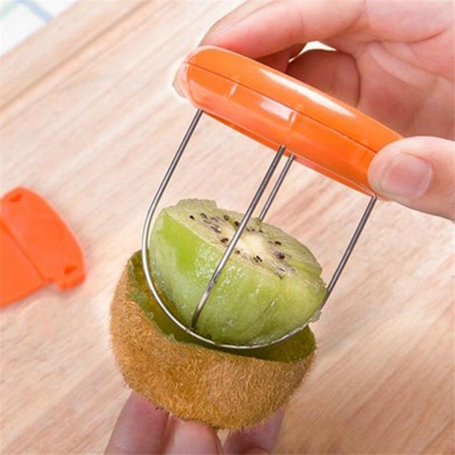 Aléatoire Kiwi Trancheuse Utile Outil Cutter pour Gadget Ustensile ...