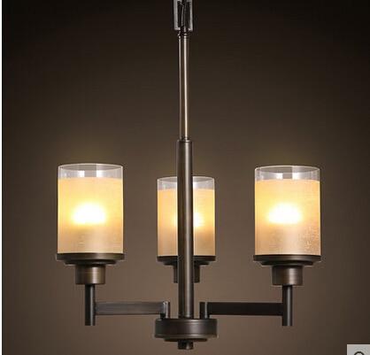 simpe modern vintage iron pendant lamp candle decoration glass shade hallway light bedroom light ac90 candle decorative modern pendant lamp