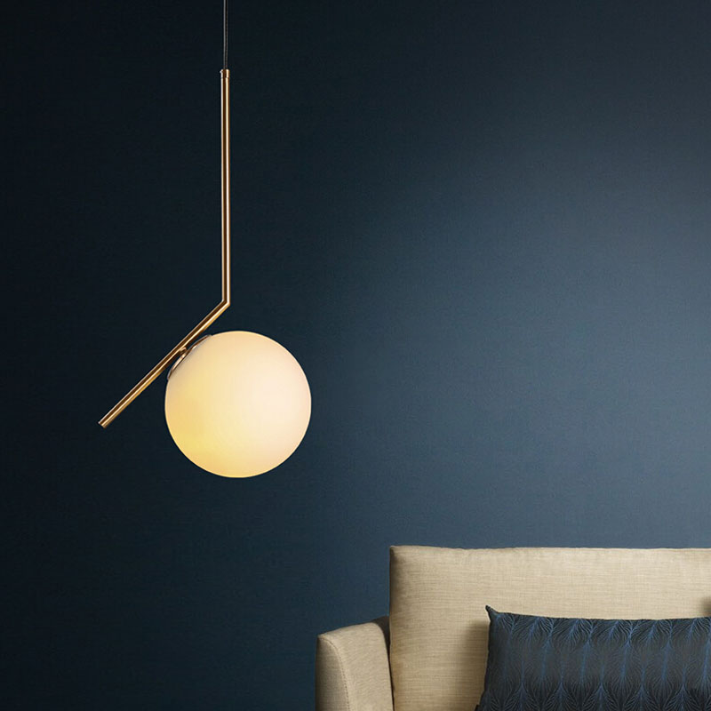 New simple Home decoration pendant light bedroom light round lovely modern Led pendant lamp E14 Bulb gold body ZDD0011 modern american personality lamp spider extendable light pendant scalable lamp home office bar decoration light lamp