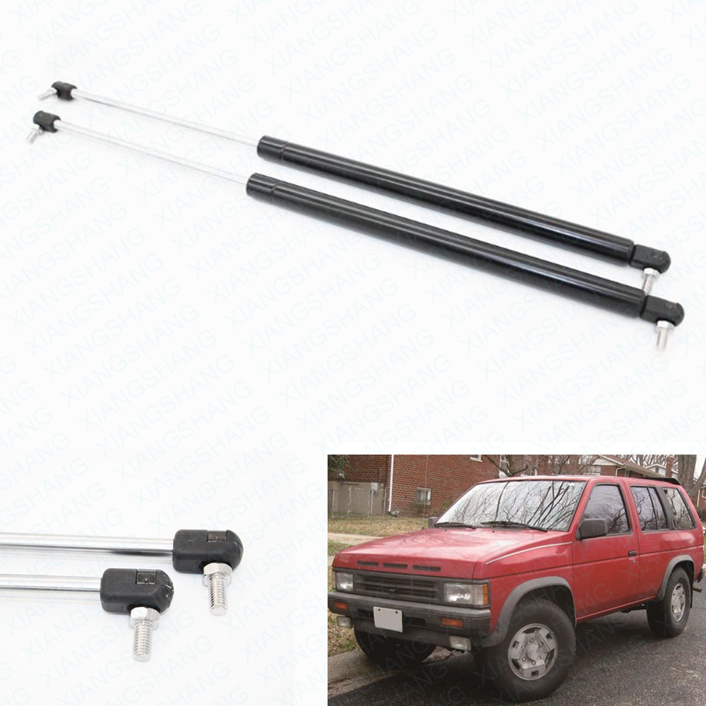 2pcs Rear Hatch Tailgate Lift Supports Gas Struts for Nissan Pathfinder Terrano 240SX Terrano 1987 1995