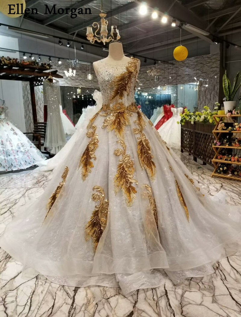 Silver Lace Ball Gowns Wedding Dresses 2018 Custom Made Up Court Train Appliques Real Photos High Quality Bridal: Silver Lace Ball Gown Wedding Dresses At Websimilar.org