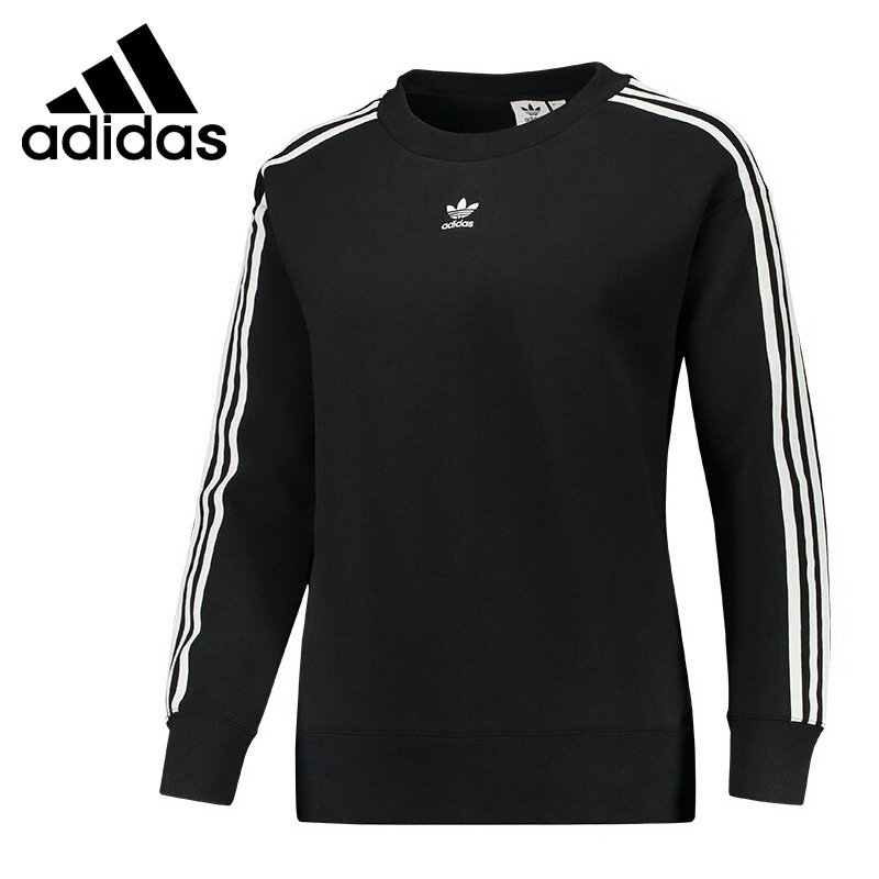 Original New Arrival 2018 Adidas Originals CREW SWEATER Women's Pullover Jerseys Sportswear цена