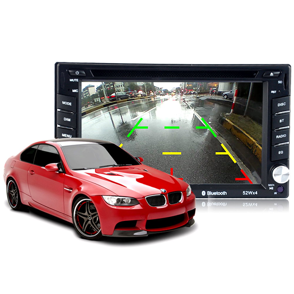 7 Remote control USB/SD/AUX Touch Screen Stereo 2 Din DVD/CD Player Car Radio free shipp ...