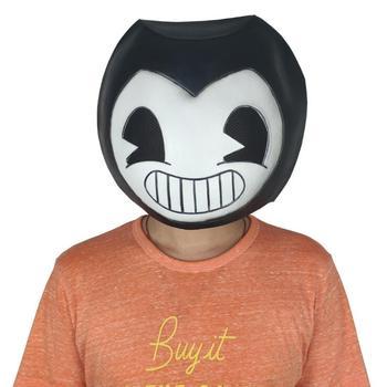 Comercio internacional Bandi y máquina de impresión de aceite Bandi máscara de monstruo de látex auriculares accesorios de cosplay para Halloween