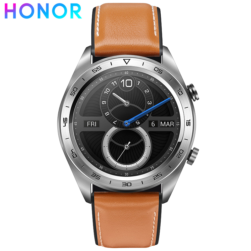 Huawei Honor Magic multi-sports GPS montre intelligente 5ATM étanche fréquence cardiaque Fitness Tracker Smartwatch pour Android iOS