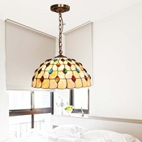 European glass beads lighting cover peacock tail living room dining room study bedroom Cafe modern