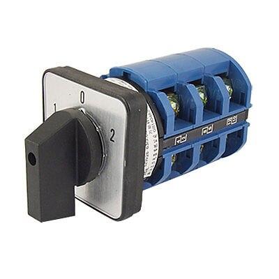 AC 380 V 63A 12 bornes marche/arrêt/interrupteur à came rotative