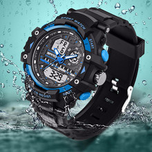Sanda Brand G Style Shock Watch Men Electronic Military Watch