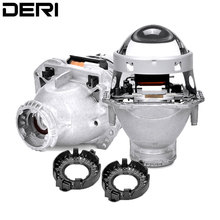 DERI 3.0 inch Bi-xenon Projector lens Hella 3R G5 5 Style Car Styling Retrofit Headlamp Modify D1S D2S D3S D4S Dedicated Lenses 2pcs 3 0 inch hella 5 car bi xenon hid projector lens metal holder d1s d2s d3s d4s xenon kit lamp car headlight universal modify