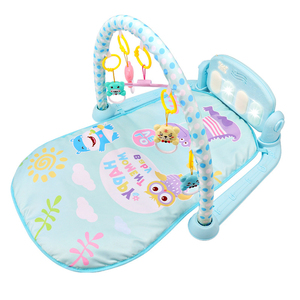 Image 4 - NEW 3 in 1 Baby Play Mat Baby Gym Toys Soft Lighting Rattles Musical Toys For Babies Educational Toys Play Piano Gym Baby Gifts