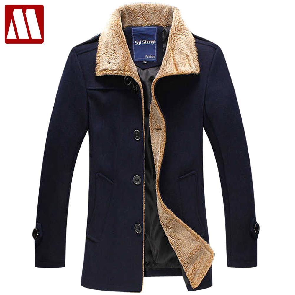 Popular Wool Winter Coats for Men-Buy Cheap Wool Winter Coats for