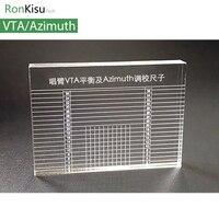 LP Vinyl Record Player Tonearm VTA Balance Cartridge Azimuth Ruler Headshell Turntable Accessories