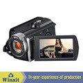 3.0 pulgadas TFT pantalla de la rotación de mano cámara de vídeo digital con MAX.16Mega píxeles del sensor CMOS 16 zoom 16xdigital USB2.0