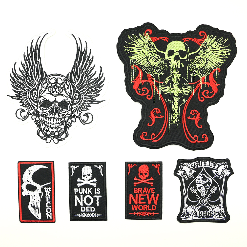 2018 New 2018 1 pcs Iron-on STYLE badges parches termoadhesivos A large patch D-037