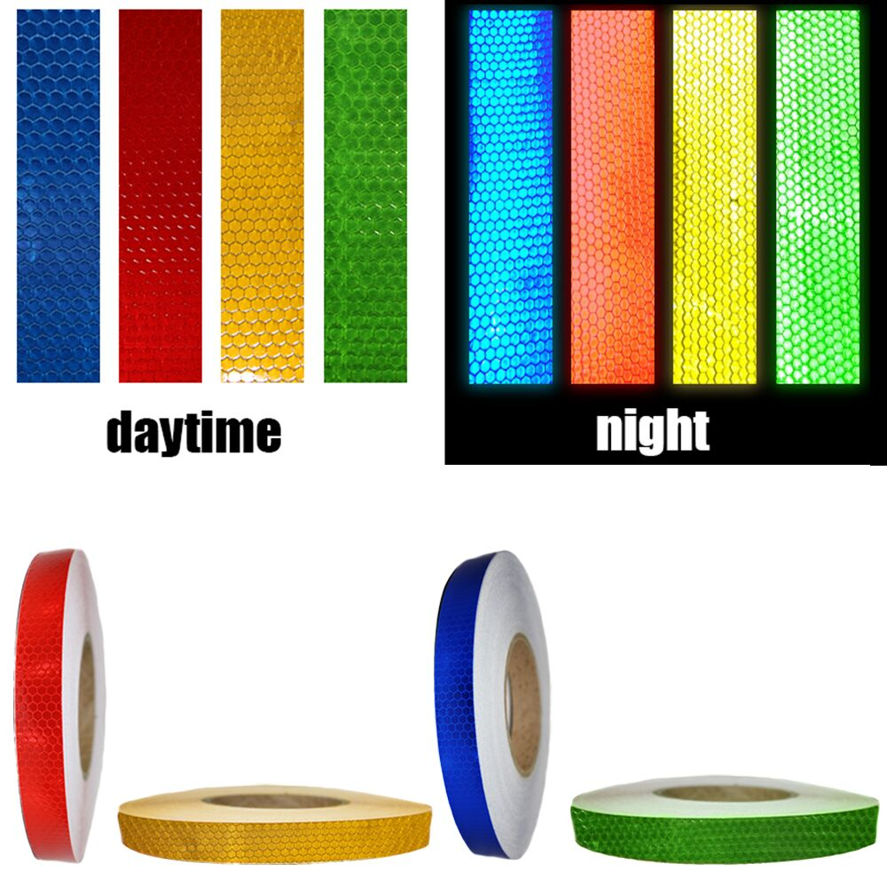 2cm Reflective Tape Sheeting Car Styling Reflective Sticker Auto Motorcycle Bike Decoration Decal Whole Body Color Strip Sheet junction produce jp luxury reflective windshield sticker ho car auto motorcycle vinyl diy decal exterior window body car styling