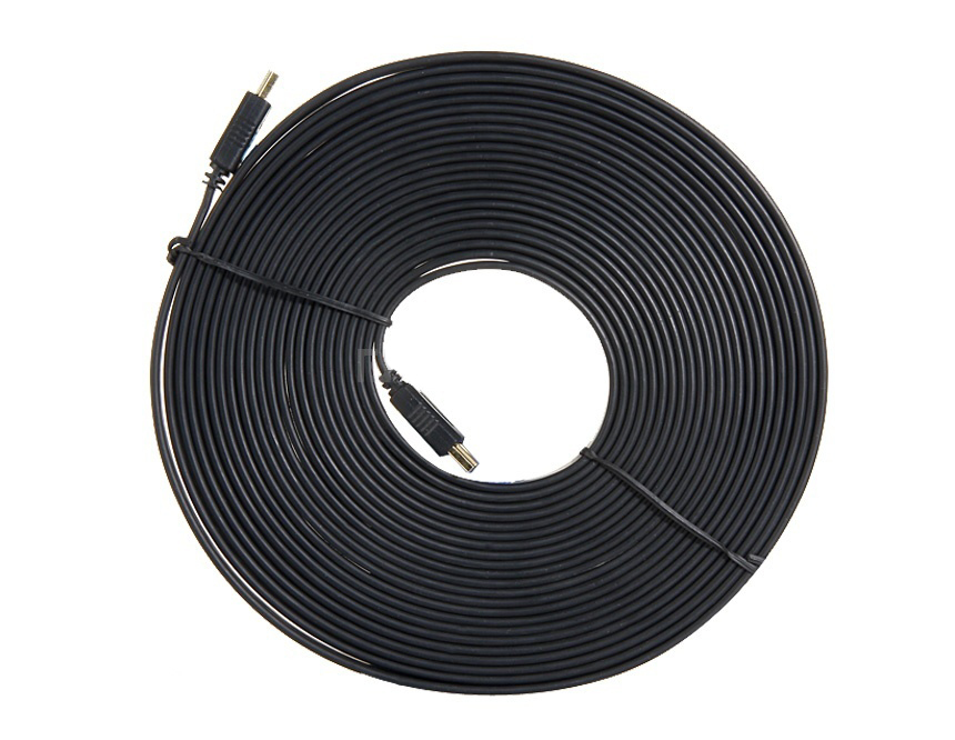 9FT 1M,3M,5M,10M,15M High speed Gold Plated Plug Male-Male HDMI Cable 1.4 Version Flat line 1080p 3D for HDTV XBOX PS3