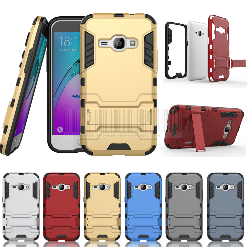 Anti-knock Tank Armor Slim Hybrid Shockproof Hard Case Protective Cover With Holder For Samsung Galaxy Express 3
