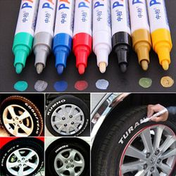 12pcs waterproof car paint pen scratch repair pen remover painting paint marker pen car tyre tire.jpg 250x250