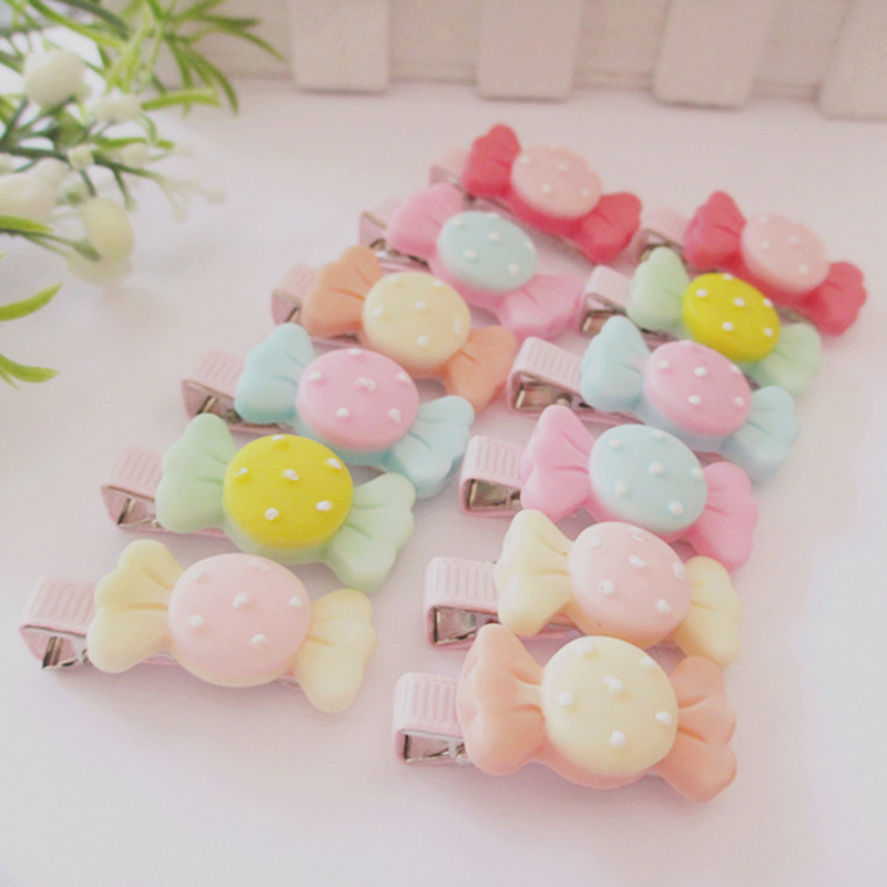 Hot 6Pcs/lot Girls Kids Fashion Cute Candy Hairpin Bowknot Hair Clip hot 6pcs lot girls kids fashion cute candy hairpin bowknot hair clip page 4 page 9 page 1 page 7