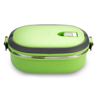 High Quality Insulated Tableware Set Food Storage Container Thermo Thermal Green